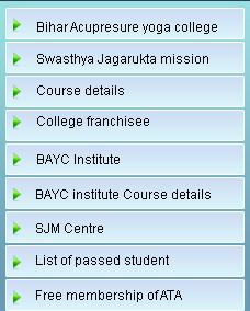 Welcome To Bihar Acupressure Yoga College, BAYC Institute